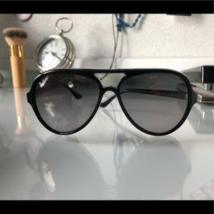 88dac076dee ... low price ray ban accessories ray ban cats 5000 classic polarized  aviators 141dc 31caa